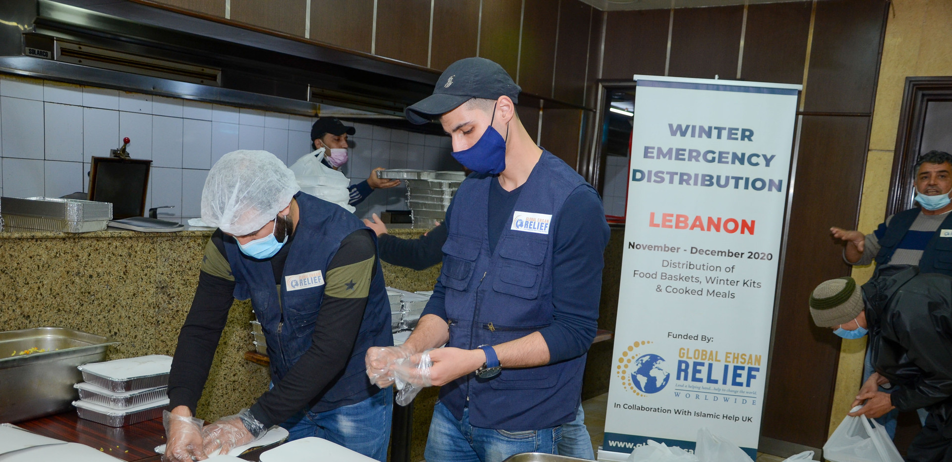 Distribution of Cooked Meals in Lebanon