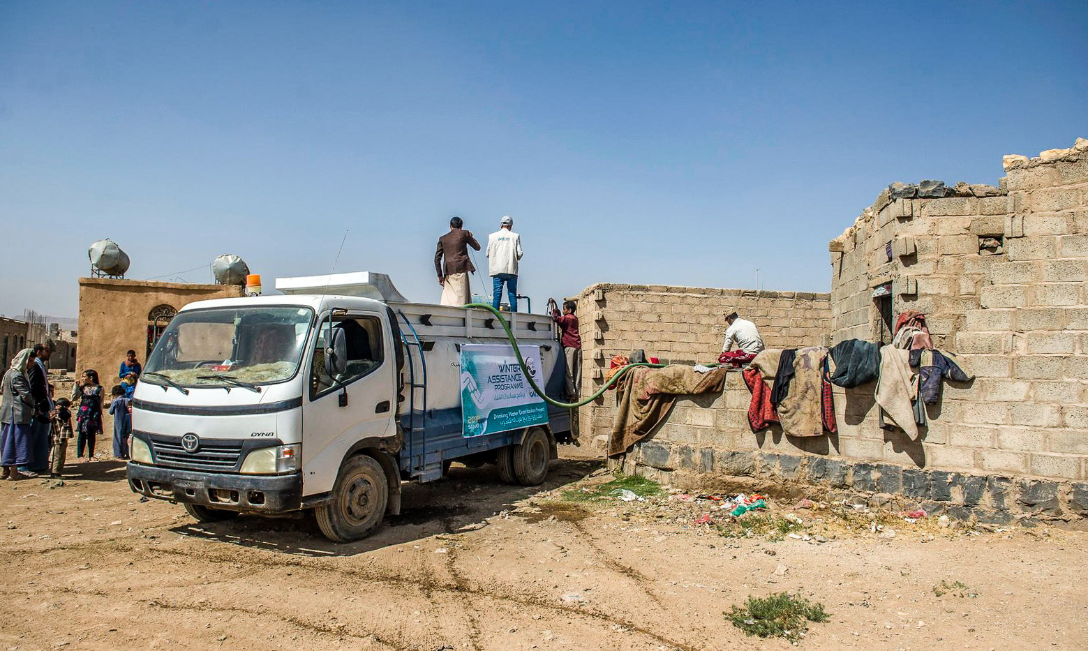 Water Tank built in Yemen