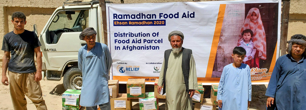 Food Aid Distribution in Afghanistan