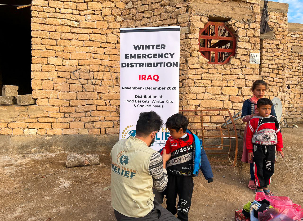 Winter Clothes Distribution in Iraq 2020