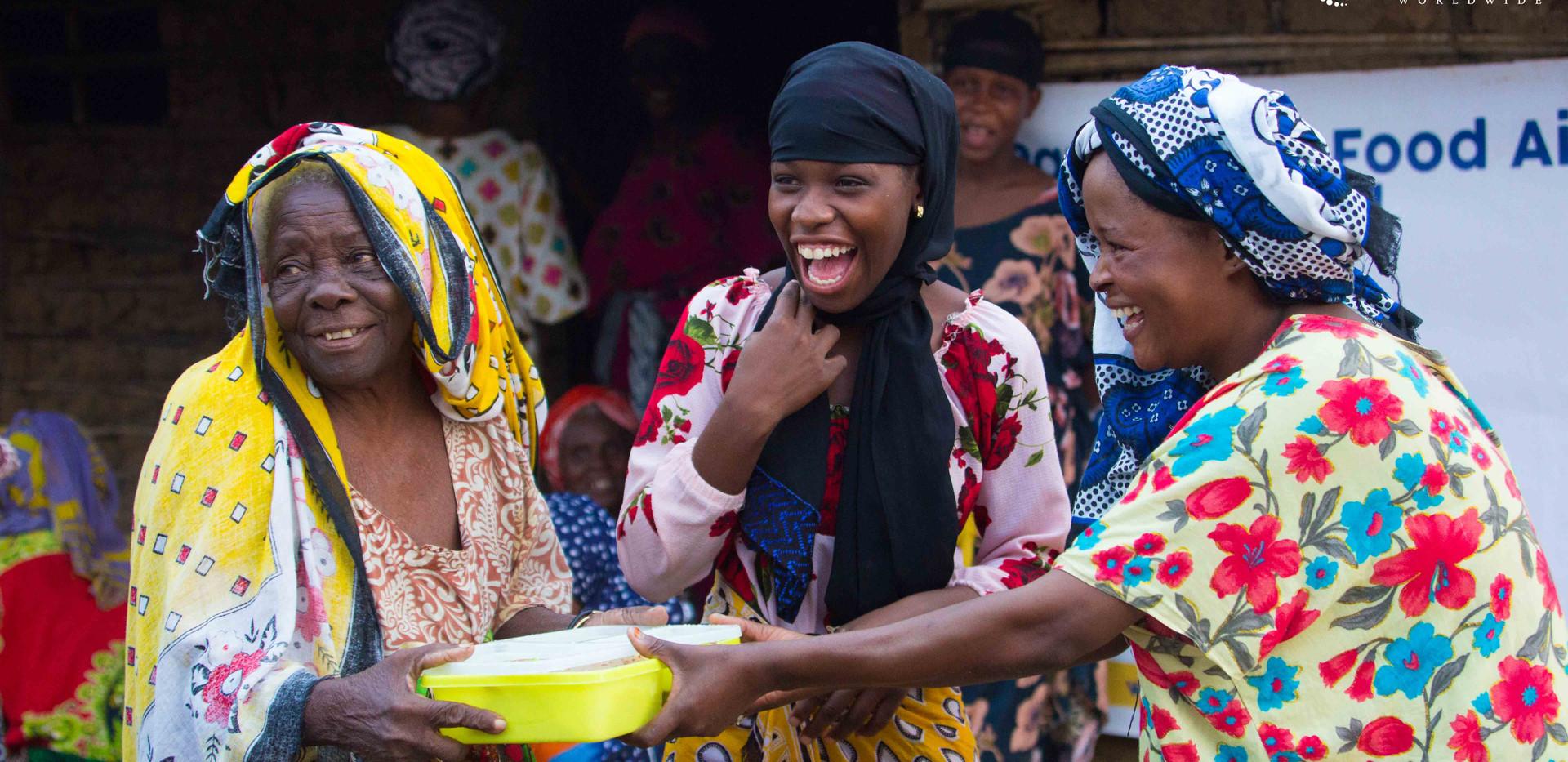 Meal Distribution in Tanzania