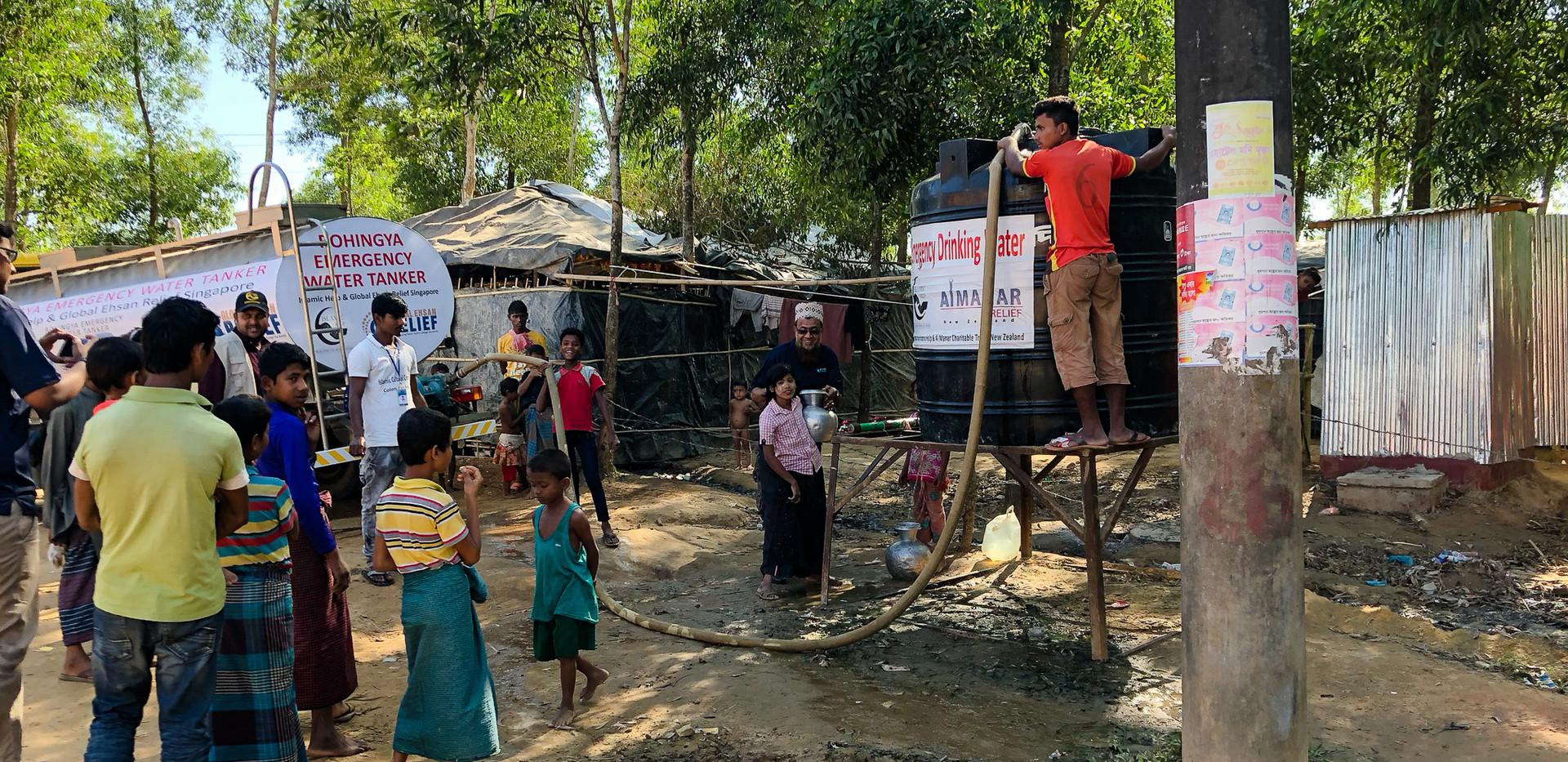Water Tank built in Bangladesh