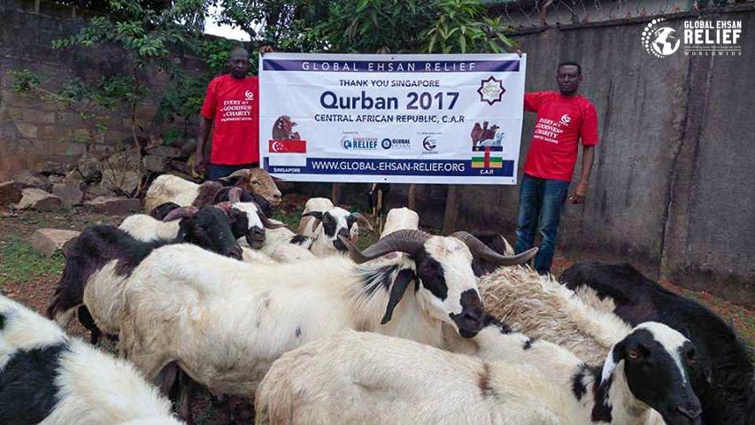 Qurban in CAR 2017