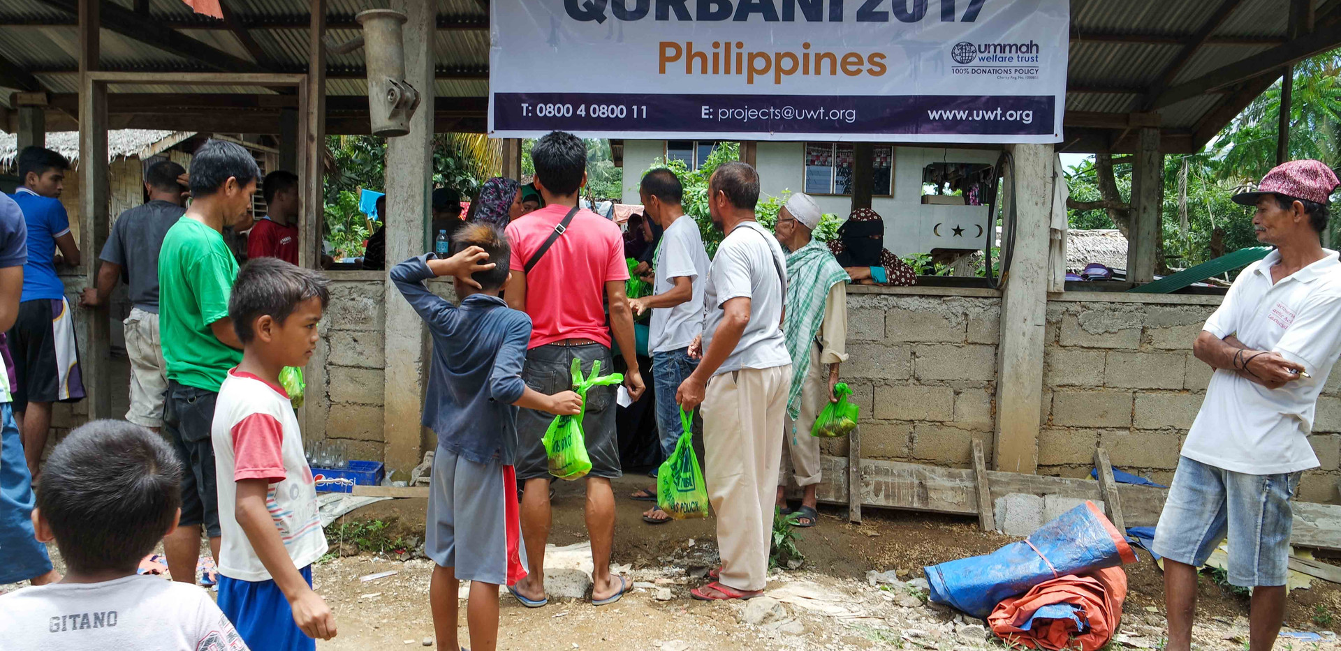 Qurban in Phillipines 2017