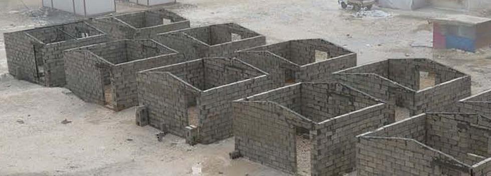 Brick Houses in progress