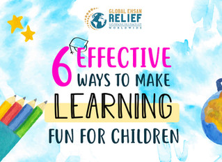 6 Effective Ways To Make Learning Fun For Children