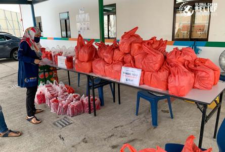 Distribution during Ramadhan 2020