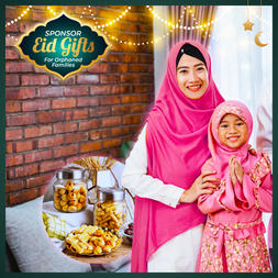 Eid Gifts for Orphaned Families