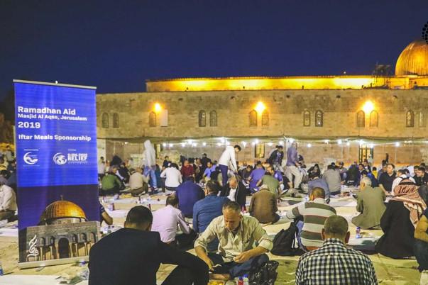Iftar at Masjidil Al-Aqsa
