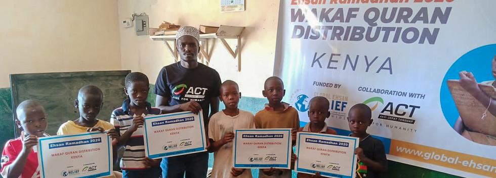 Quran Distribution in Kenya