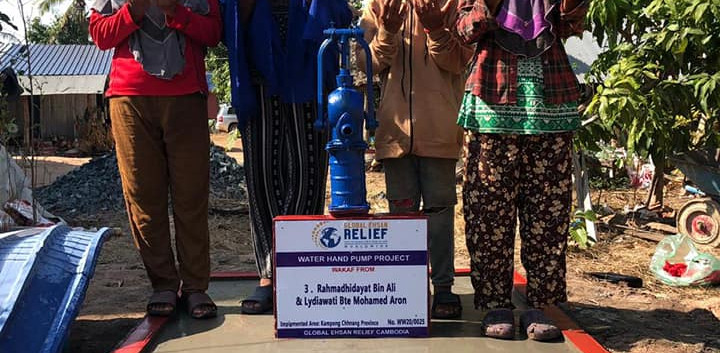 Water Hand Pump in Cambodia