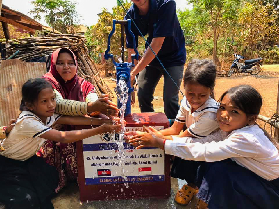 Water pump in Cambodia