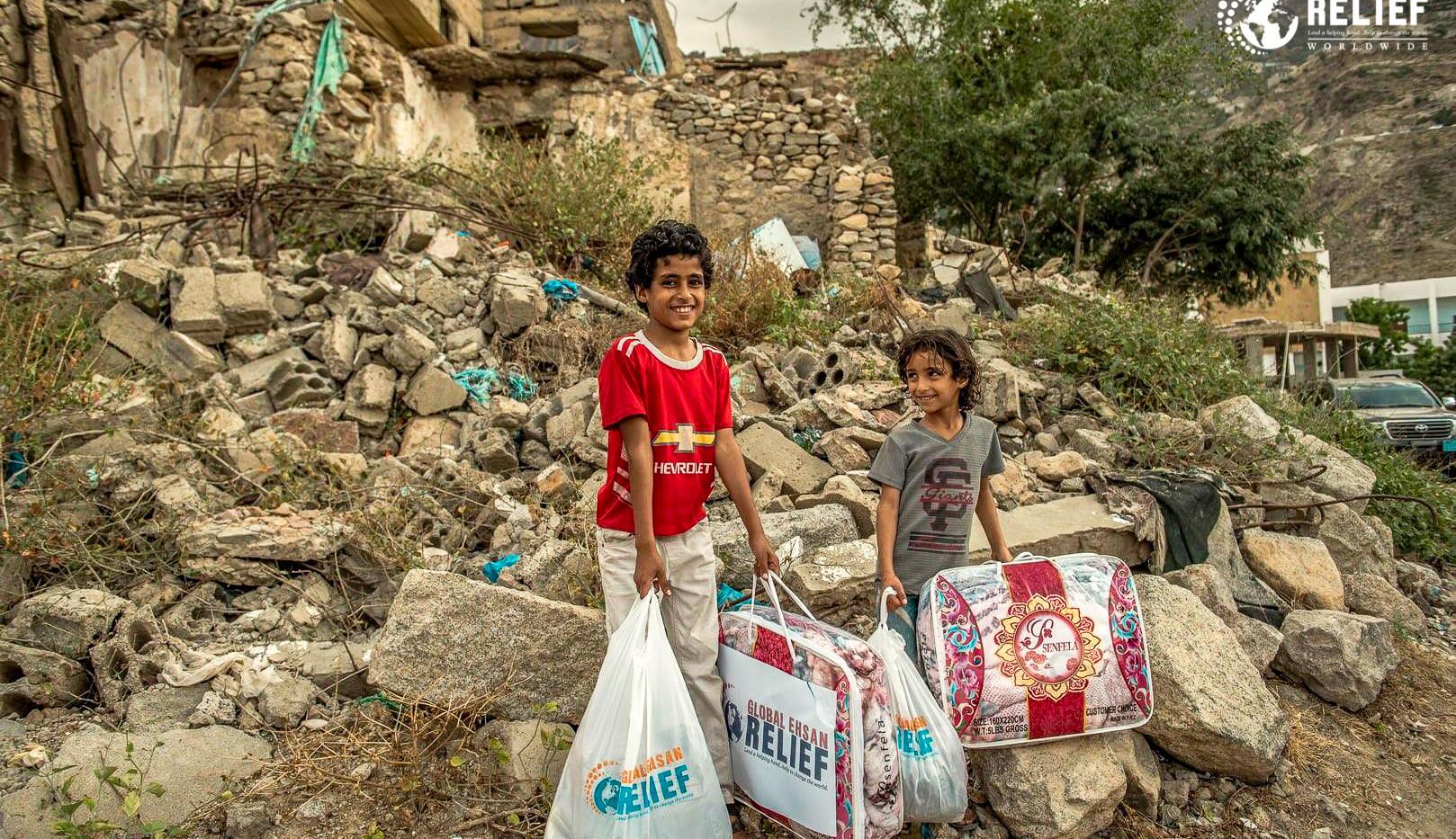 2019 Winter Kits Distribution in Yemen
