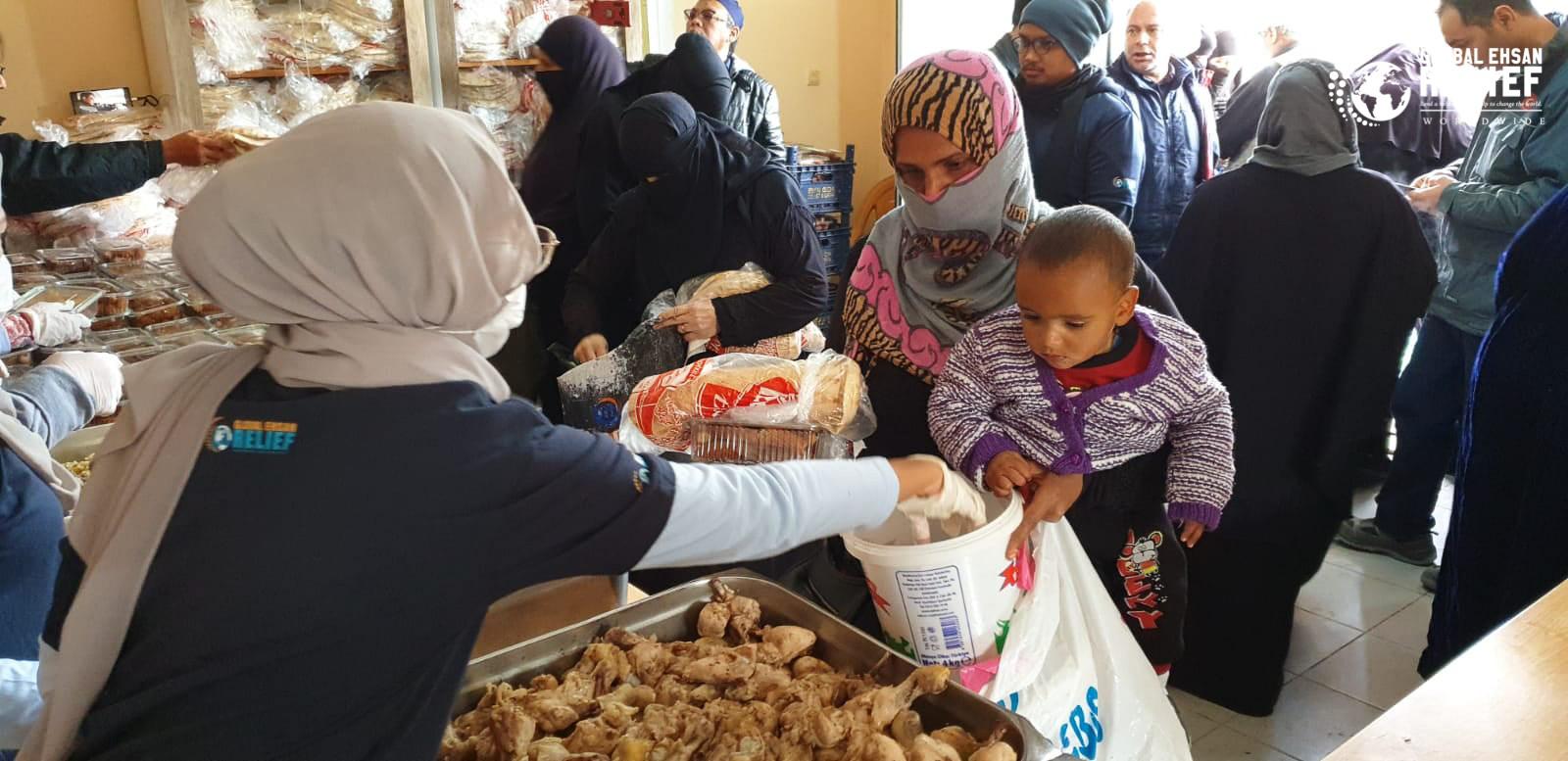 Meal Distribution at Sanliurfa, Turkey