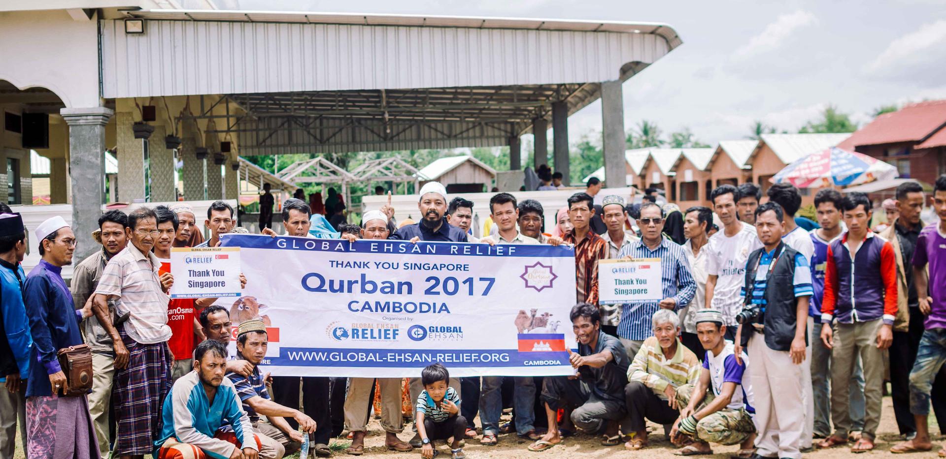 Qurban in Cambodia 2017