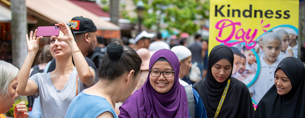 Kindness Day at Sultan Mosque