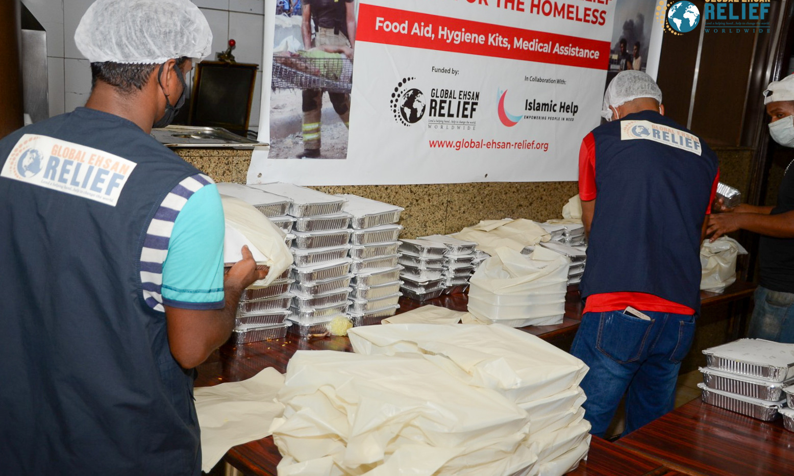 Hot Meals Distribution