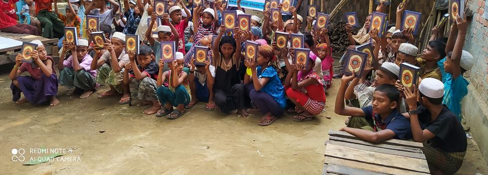 Quran Distribution in Myanmmar