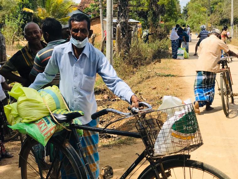 Food Aid Pack in Sri Lanka