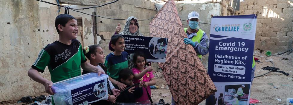 COVID-19 Emergency Response in Gaza