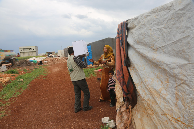 Food Aid Pack for Syrian Refugees