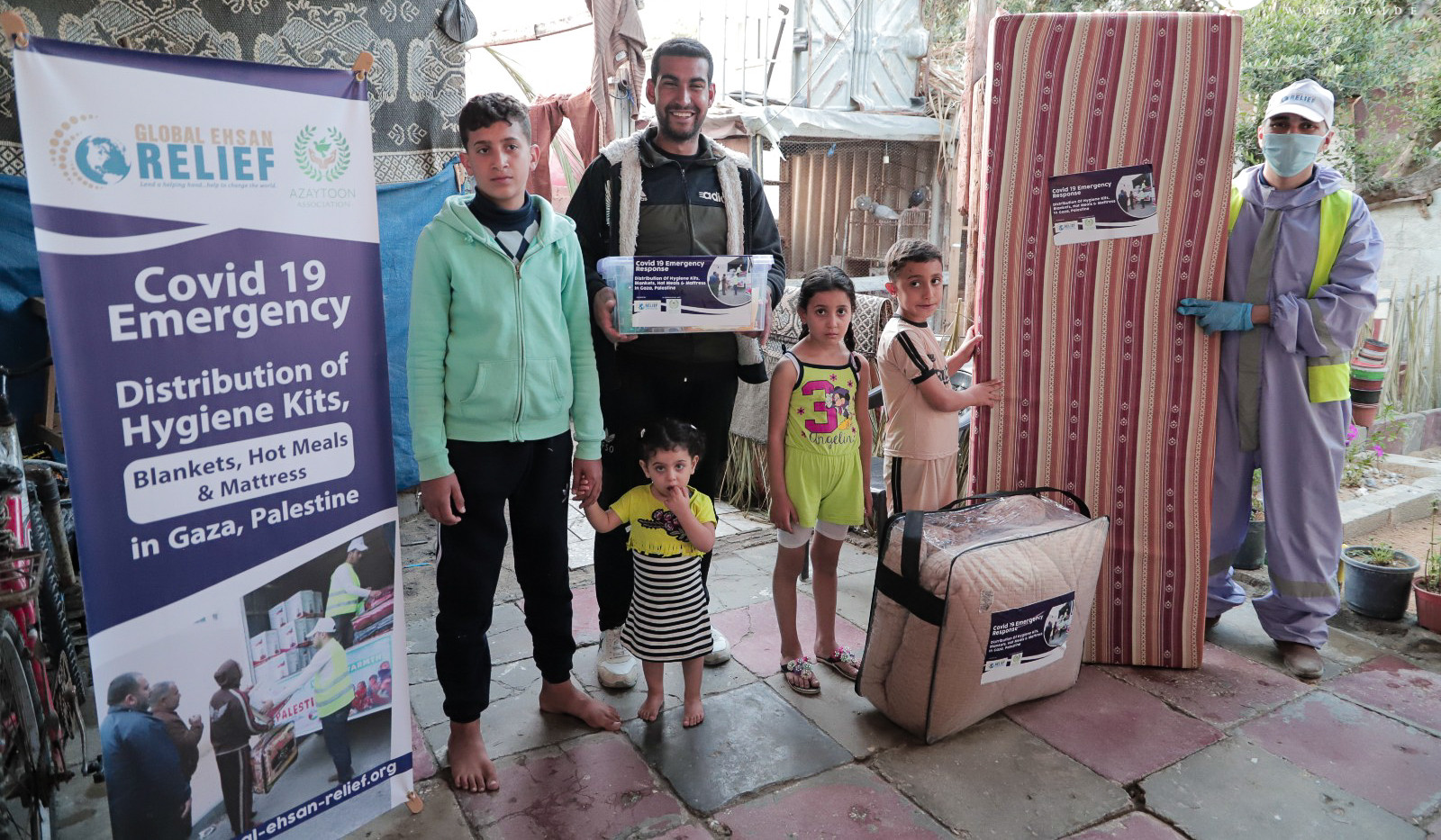 COVID-19 Emergency Response in Palestine