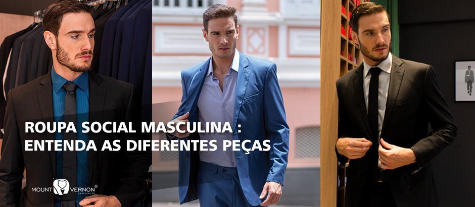 Roupa social masculina: Entenda as diferentes peças