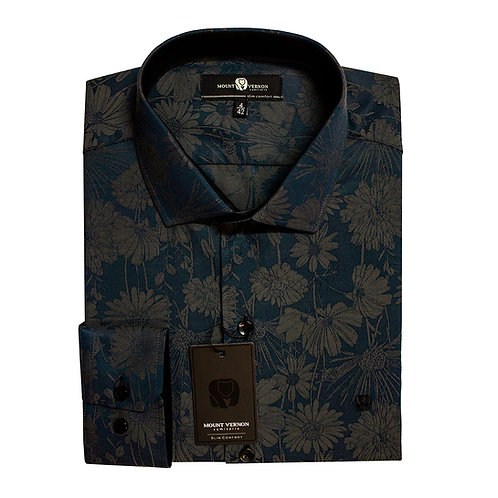 Camisa Slim Comfort Mount Vernon N3134