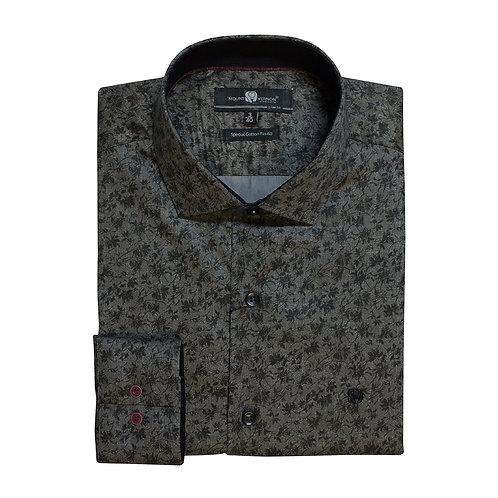 Camisa Slim Fit Mount Vernon F3307