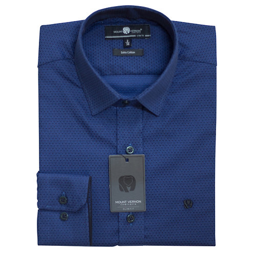 Camisa Slim Fit Mount Vernon F3297