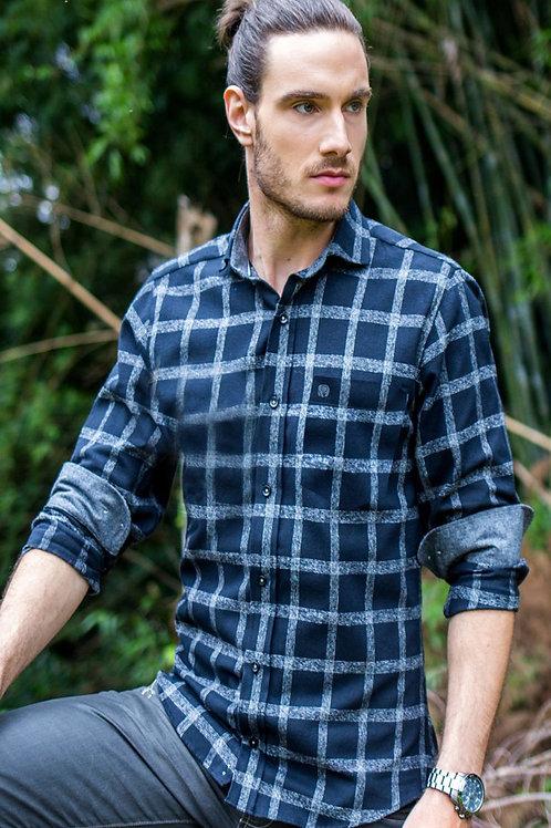 Camisa Comfort Line Flanela Cashimire C2617