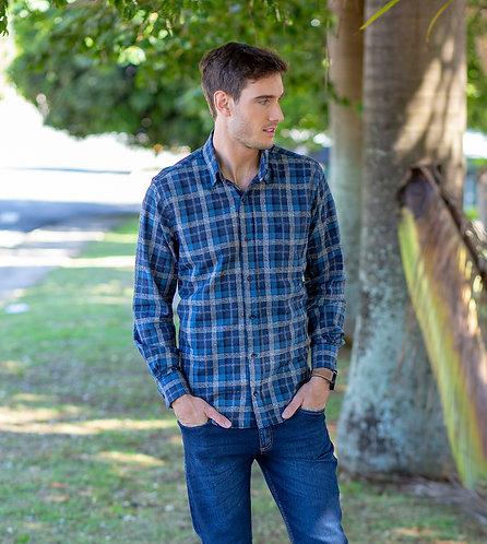 Camisa Comfort Flanela Mount Vernon C3281