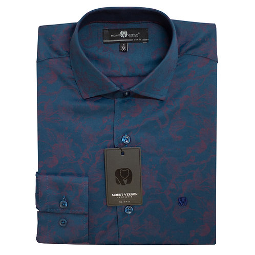 Camisa Slim Fit Mount Vernon F3303
