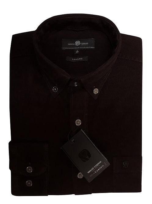 Camisa Slim Comfort Veludo 100% Algodão N2644