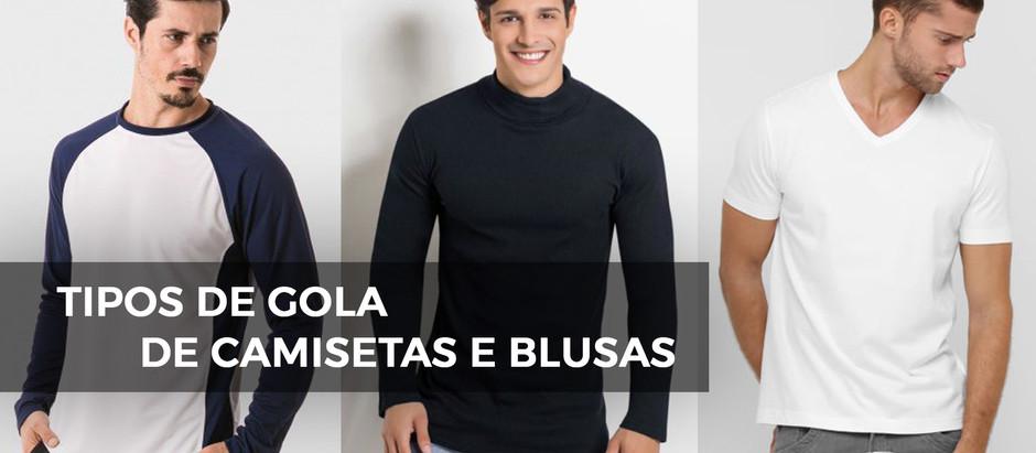 Quais são os Tipos de Gola de Camisetas e Blusas