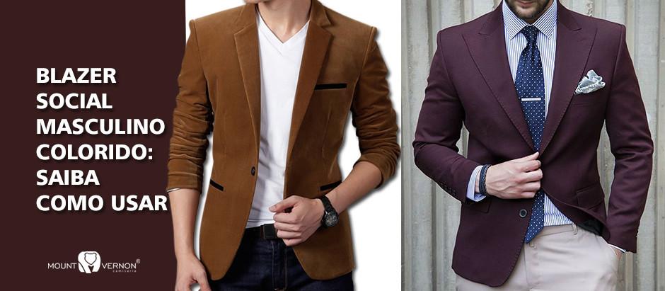 Blazer Social Masculino Colorido: Saiba como Usar