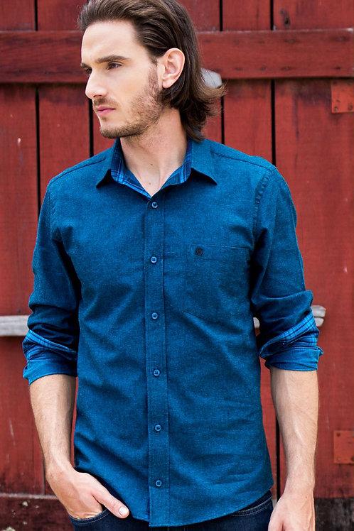 Camisa Comfort Line Flanela Cashimire C2614