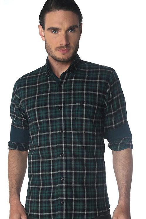 Camisa Comfort Line Flanela Cashimire C2619