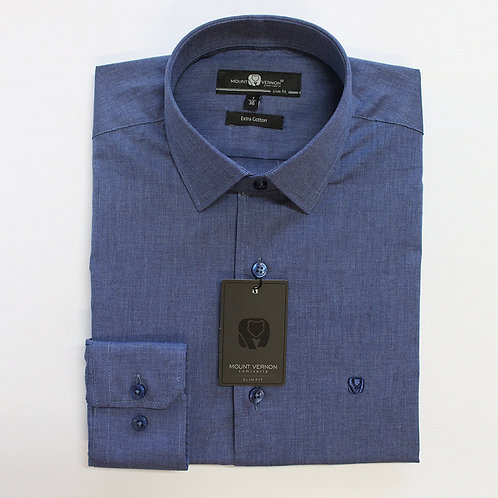 Camisa Slim Fit Mount Vernon F3043