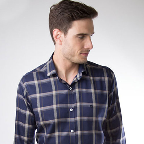 Camisa Slim Fit Mount Vernon F3271