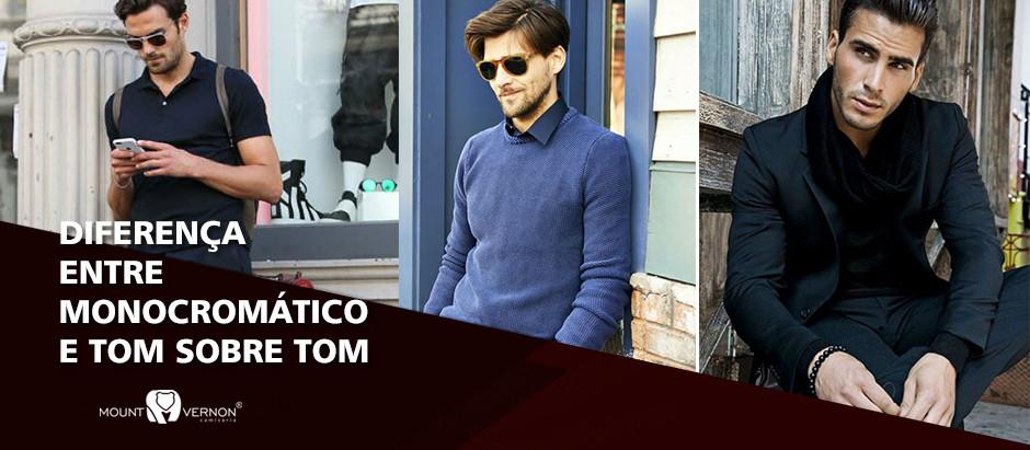 Diferença entre Monocromático e Tom Sobre Tom