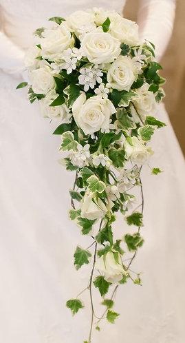 Bridal white bouquet