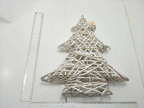 xmas tree woven light up 40cm