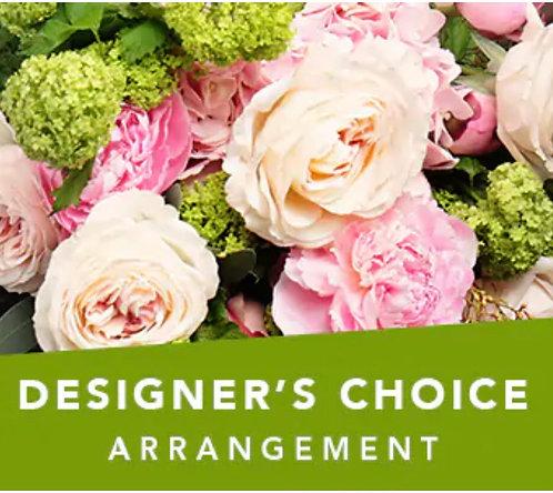 Designer's choice(oasis arrangement )