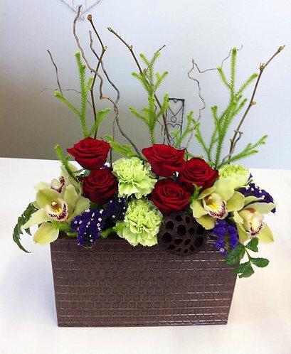 Rectangle box arrangement