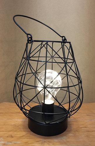 LED basket lantern