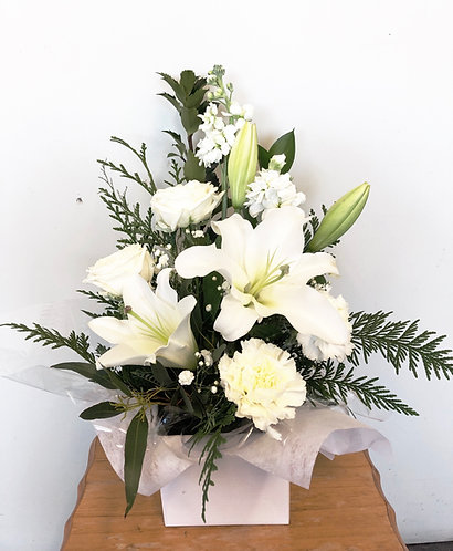 White box arrangement