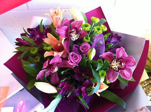 dark pink bouquet
