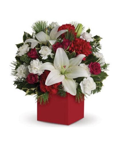 Xmas box arrangement1