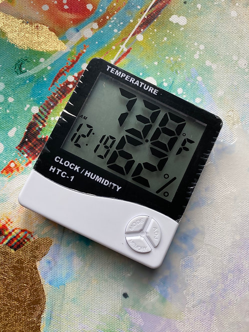 Clock & Humidity reader